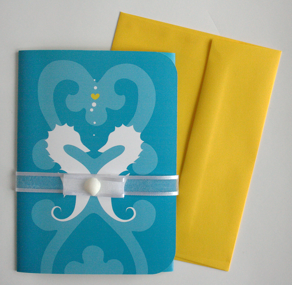 Fully Assembled Invitation & Envelop