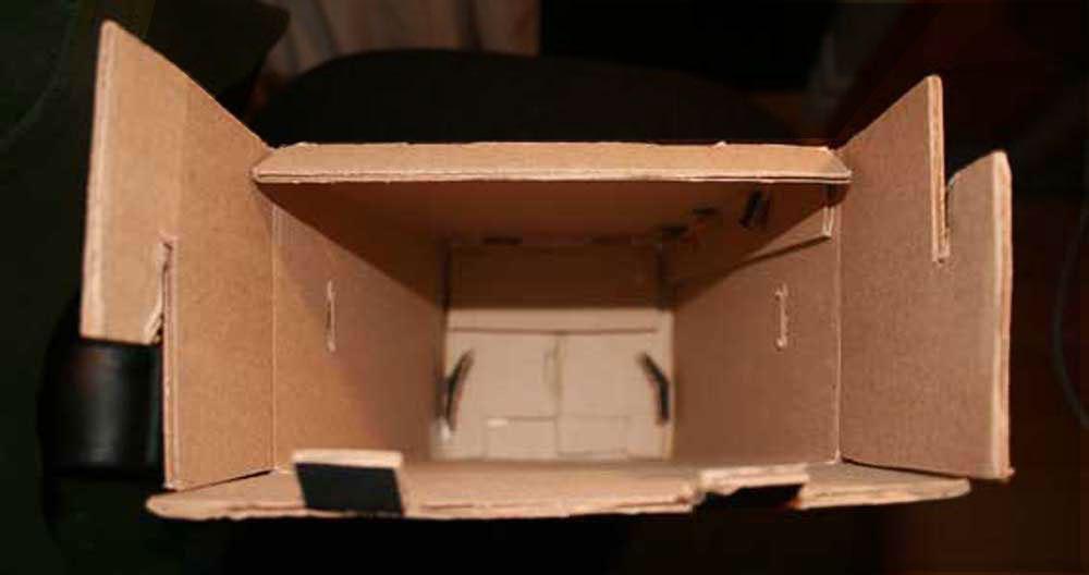 Shoe Box Inside Folds (no glue used)