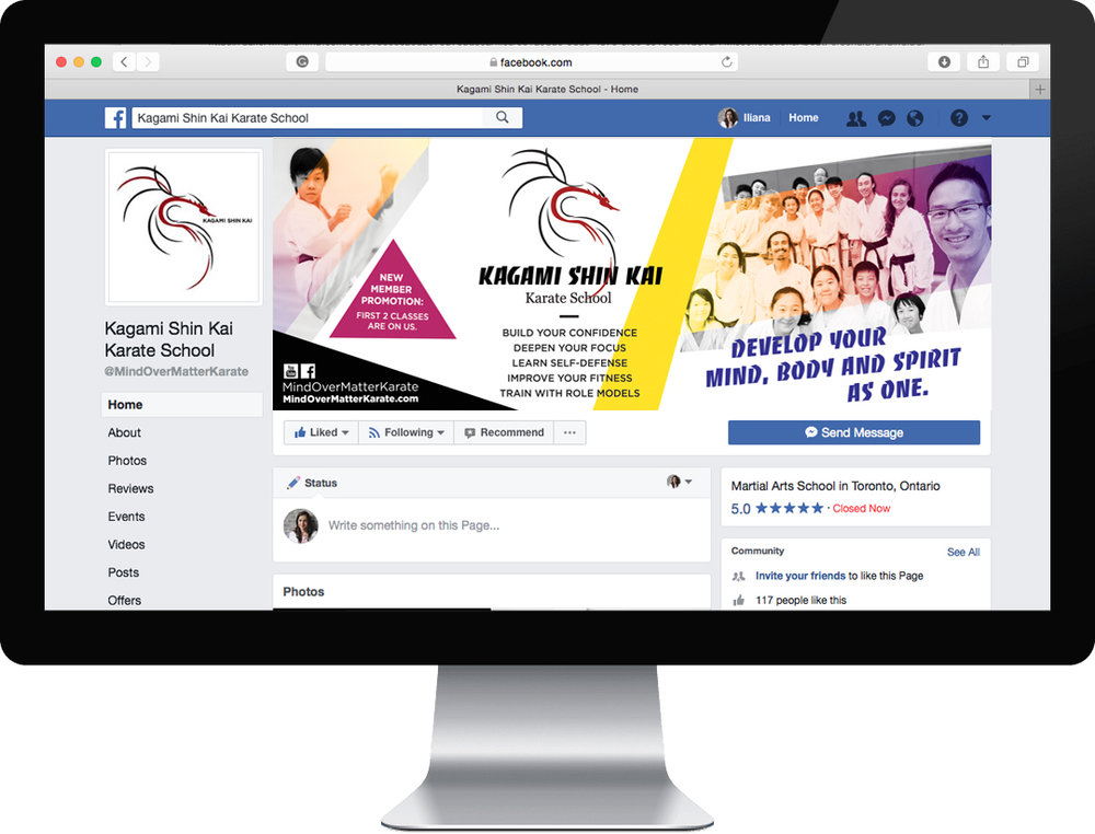 Facebook Ad and Profile Cover Photo