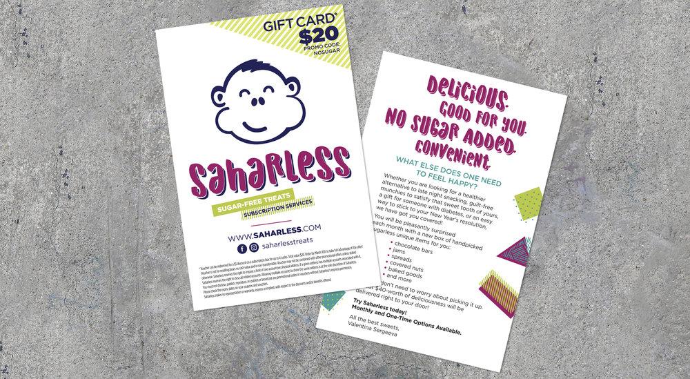 """Saharless Mailer 4"""" x 6"""""""