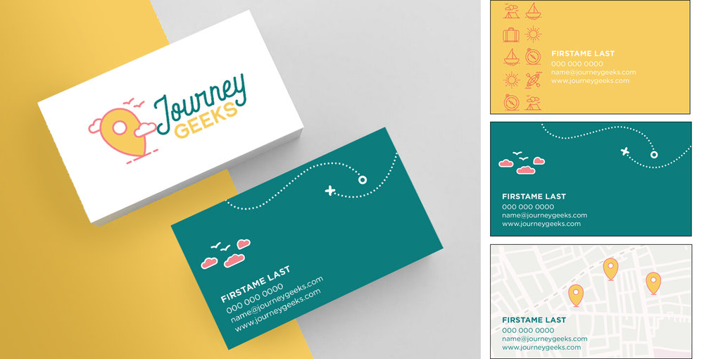 Business Card Back Design Options (right)