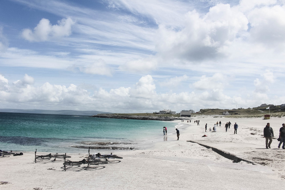 Day trip to the Aran Islands - Beach of Inisheer (Inis Oirr), Aran Islands