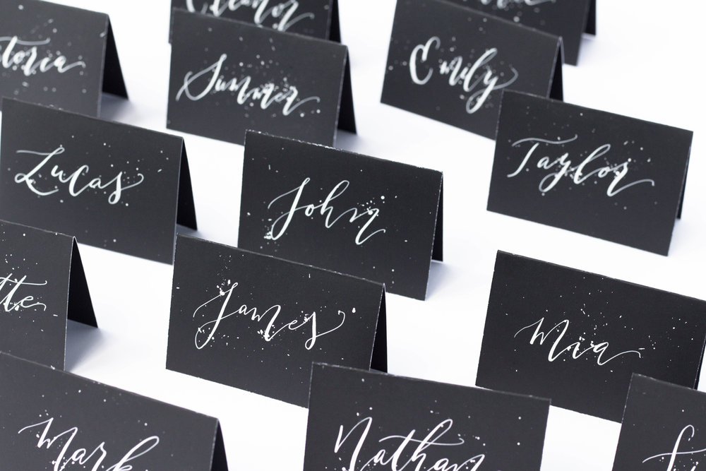 WeddingPlaceCards-EscortCards-Calligraphy-ModernCalligrapher-TrueNorthPaperCo-BirminghamAlabama.jpg
