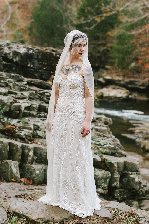 Rock and Roll Meets Folk Wedding Shoot - Autumn Wedding Ideas