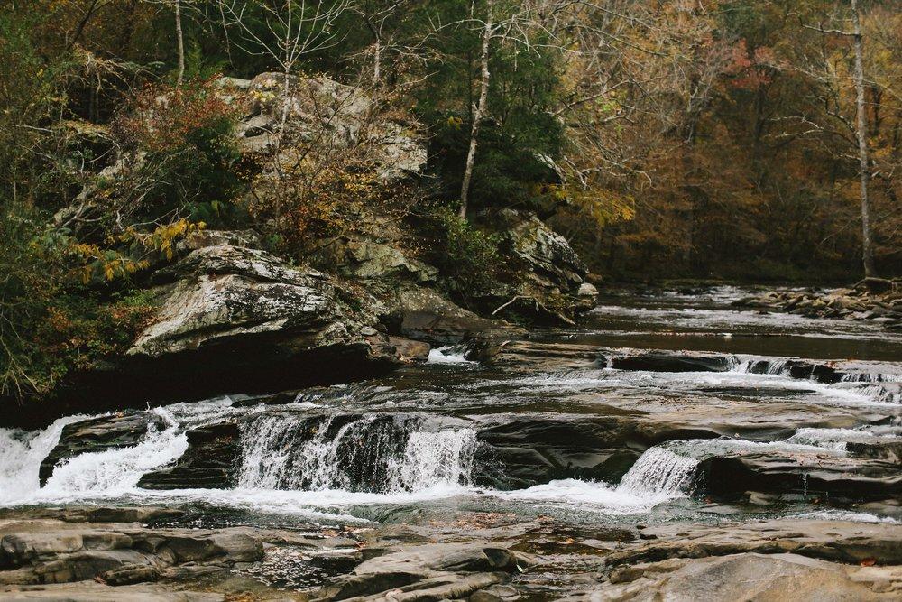 Creekside Wedding Shoot - Autumn Wedding Inspiration