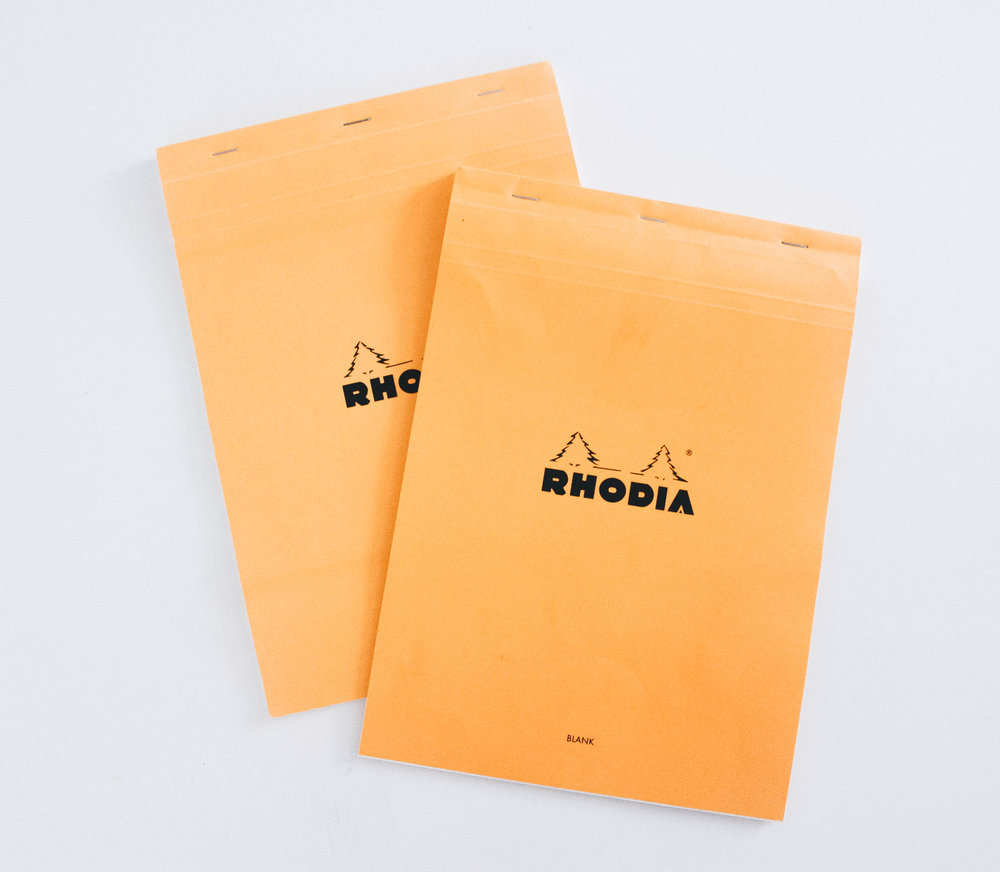 Rhodia Paper - My Favorite Calligraphy Supplies - True North Paper Co.