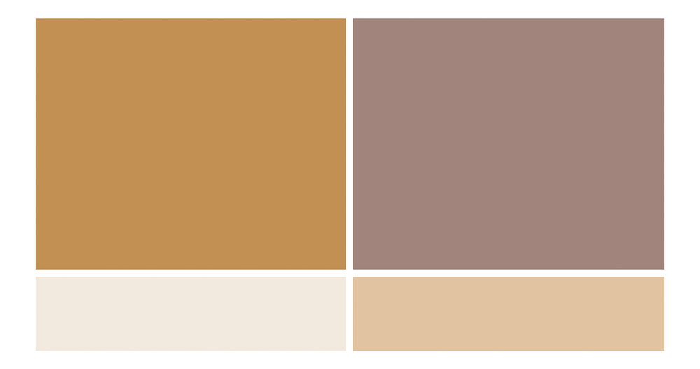 Autumn Wedding Color Inspiration - True North Paper Co.