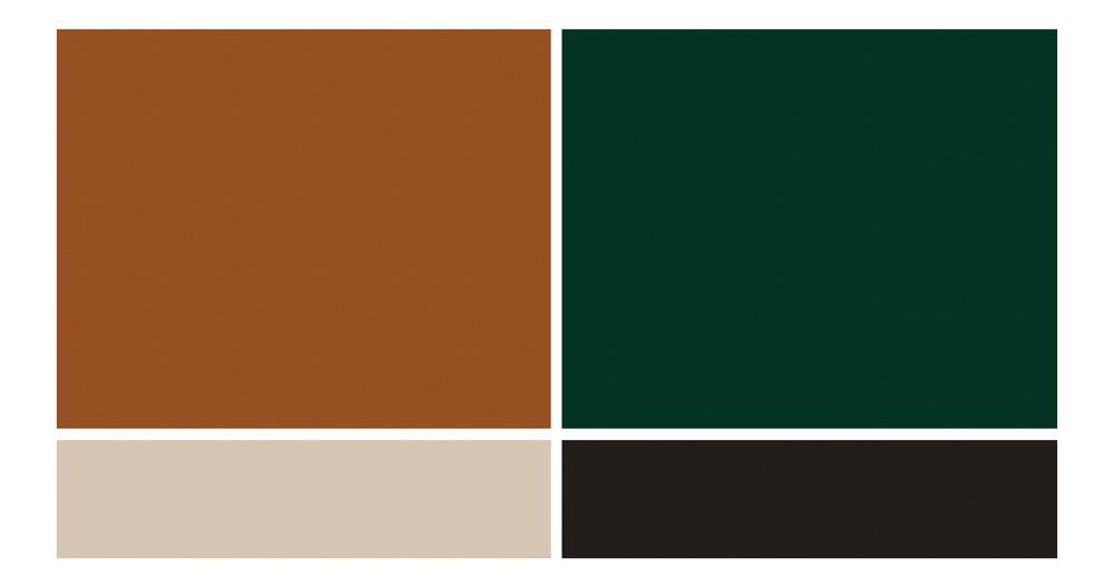 Fall Wedding Color Inspiration - True North Paper Co.