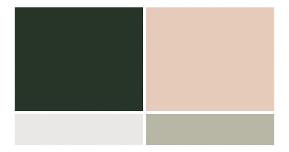 Fall Wedding Color Palettes - True North Paper Co.