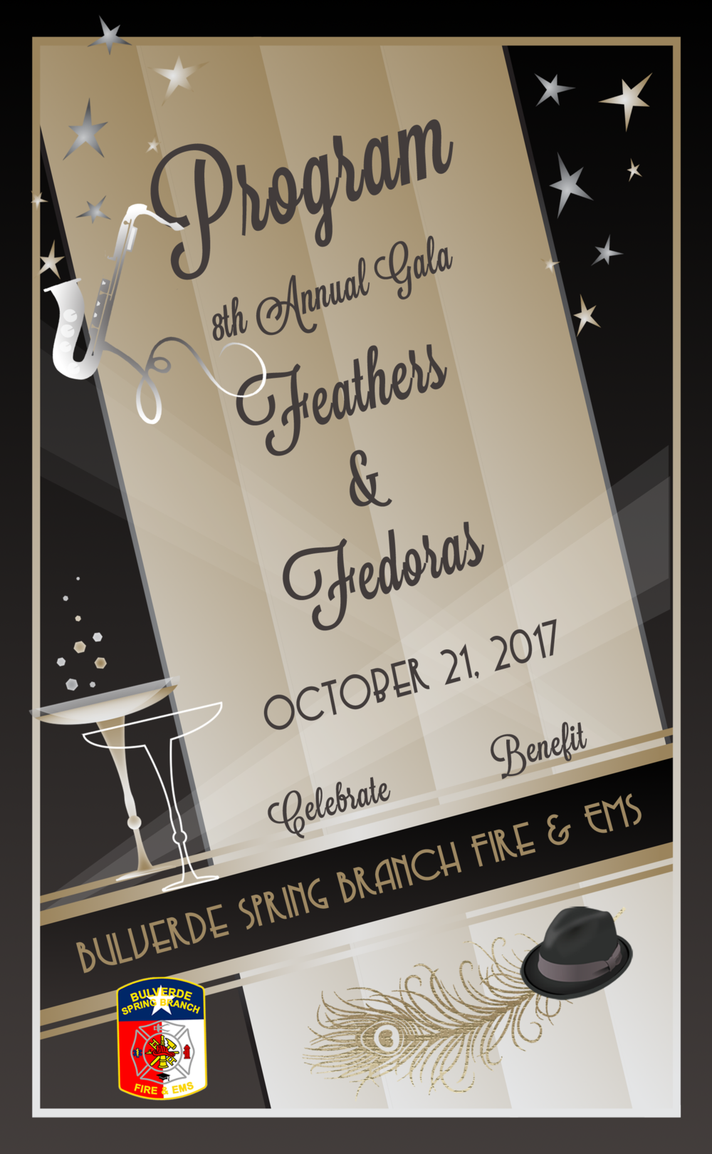 2017 Feathers & fedoras program