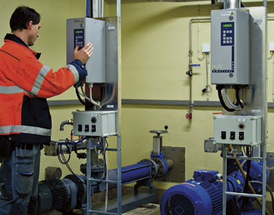 Falkenberg Municipality in Sweden uses Emotron's products as standard for operation of electric motors.