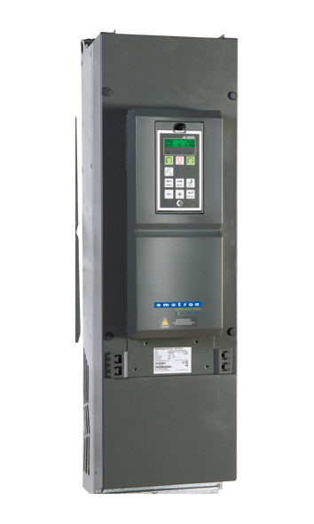 Emotron VFX 2.0 Variable Frequency Drive in NEMA 1 / IP20 configuration.