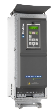 Emotron FlowDrive Variable Frequency Drive in NEMA 1 / IP20/21 configuration.