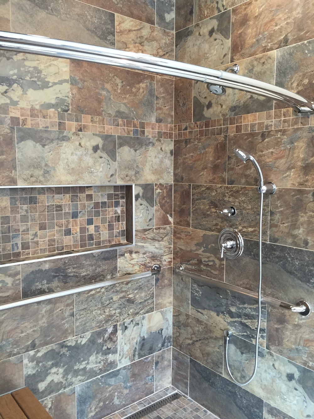 Master Bathroom Design and Remodel in Old Saybrook CT | Shaw Remodeling