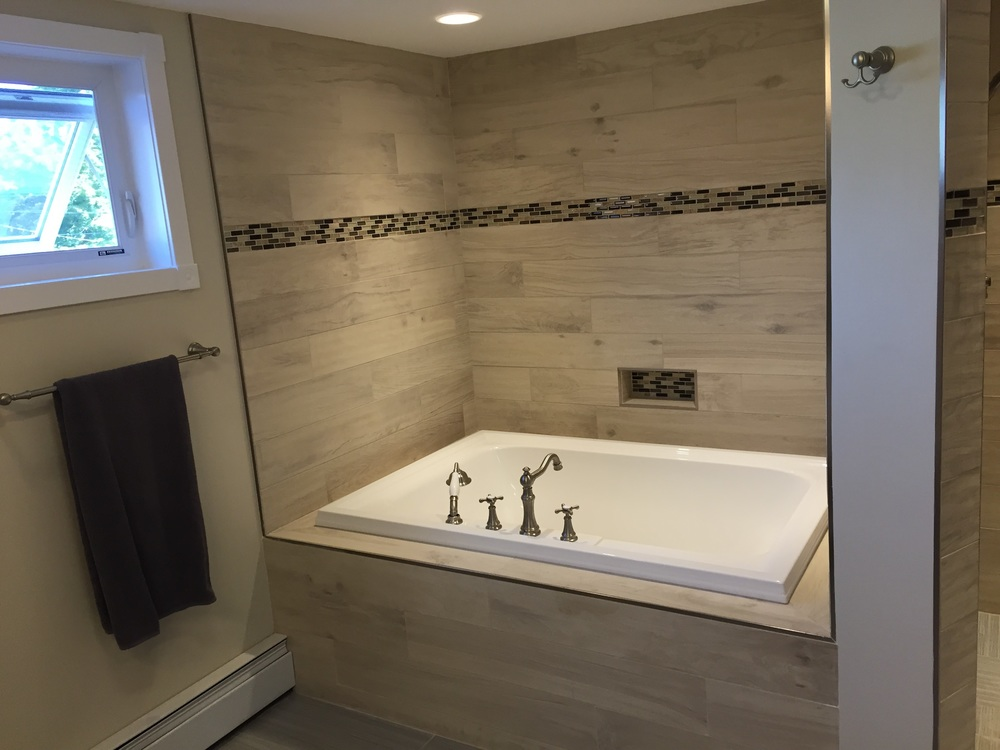 Master Bathroom Renovation in Niantic CT | Shaw Remodeling