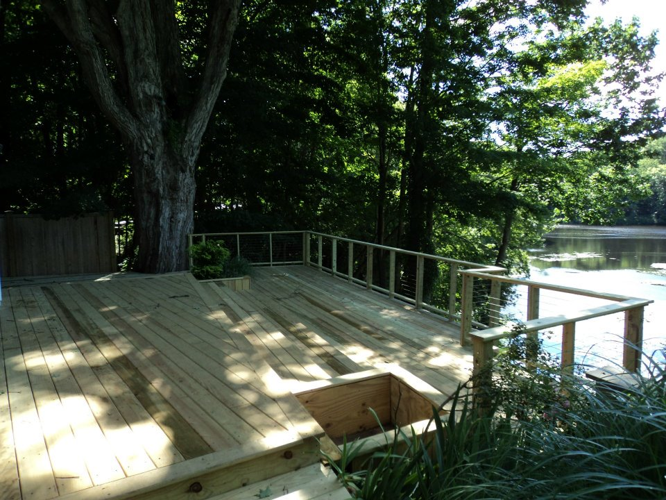 Deck Remodel in Chester CT | Shaw Remodeling