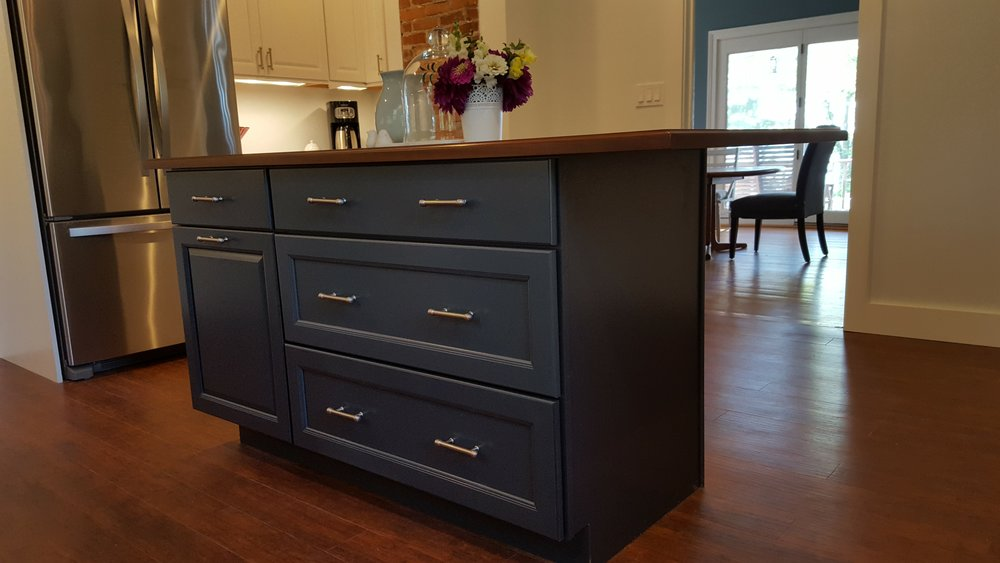 Kitchen Remodel with New Island in Waterford CT | Shaw Remodeling