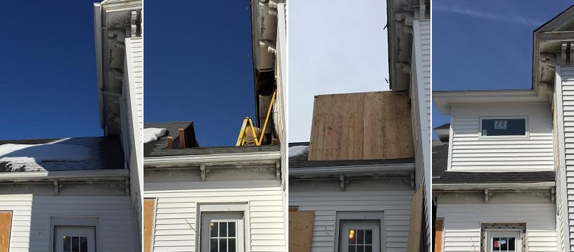Shaw Remodeling - Shed dormer in Niantic CT