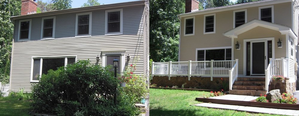 Shaw Remodeling - Before and After Remodel Makeover Old Lyme CT