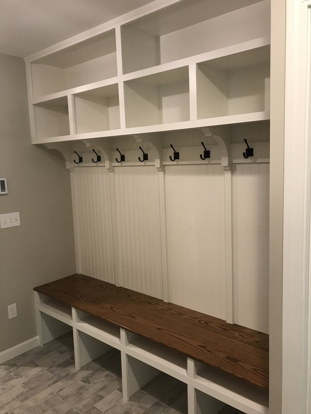 Mudroom Addition Remodel in Old Lyme CT | Shaw Remodeling