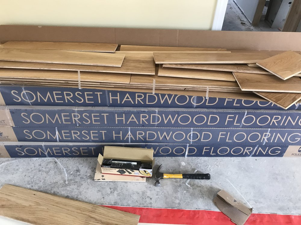 Shaw Remodeling - Progress photo - Kitchen and living room renovations with new flooring - Niantic CT  (6).jpg