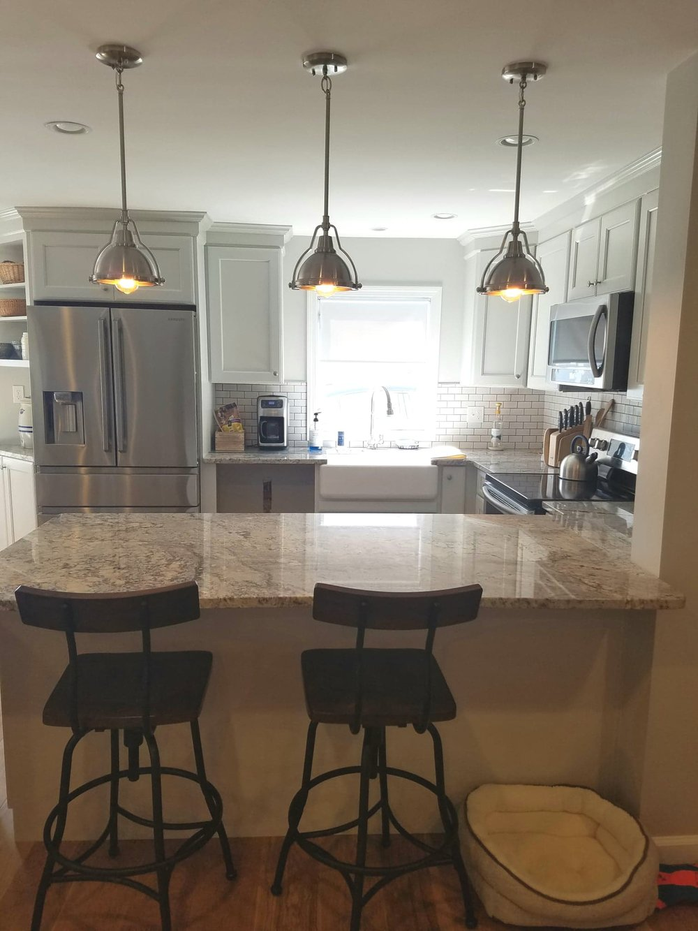 Kitchen, Bathroom, and Living Room Remodel in Niantic CT