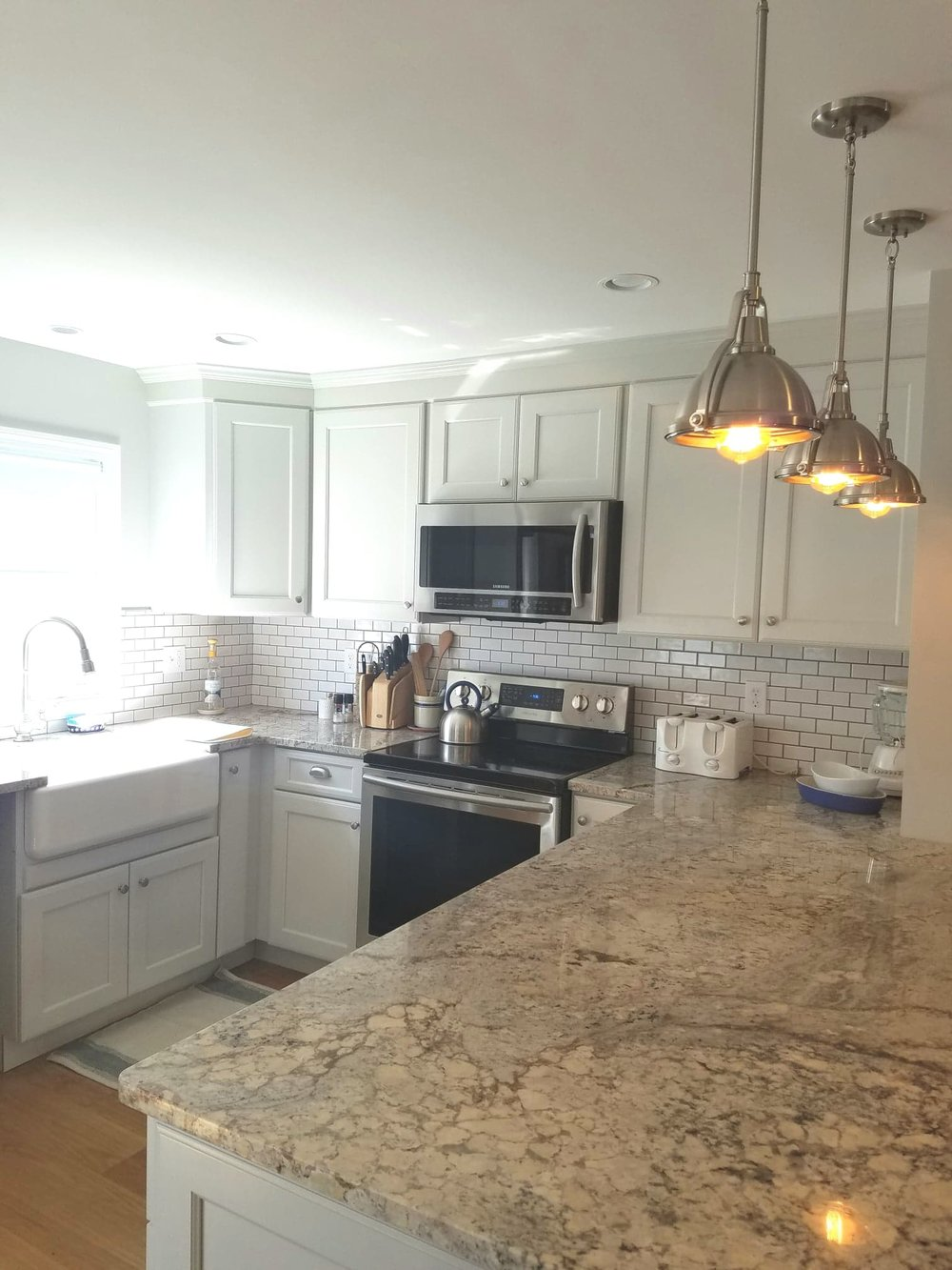 Kitchen, Living Room, and Bathroom Remodel in Niantic CT