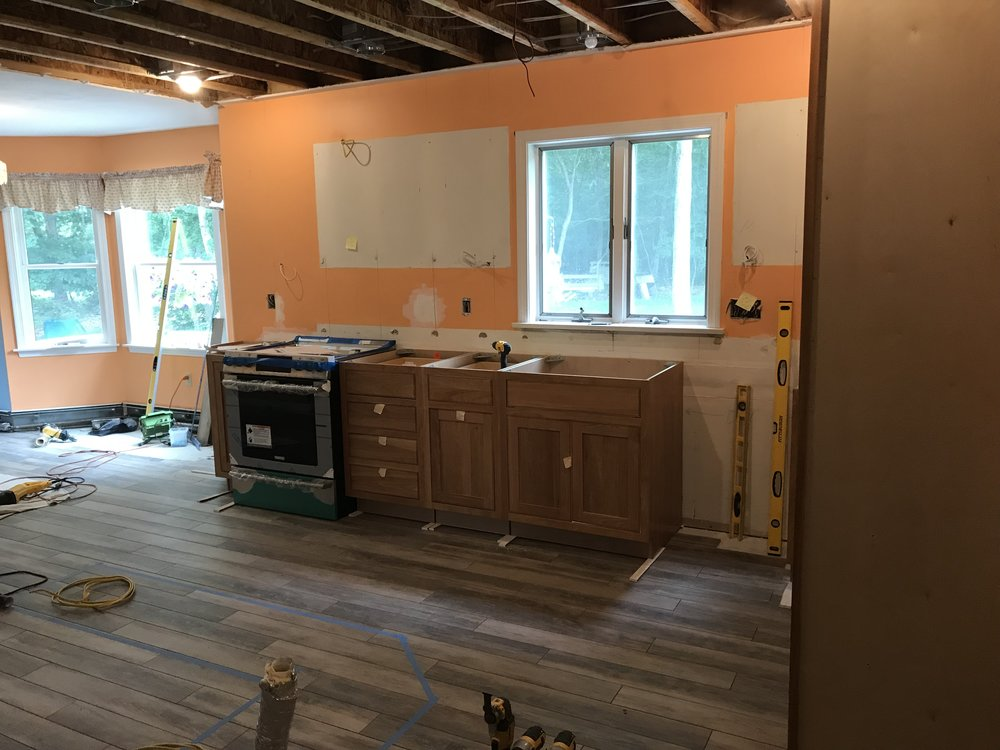 Kitchen Remodel in Old Lyme CT