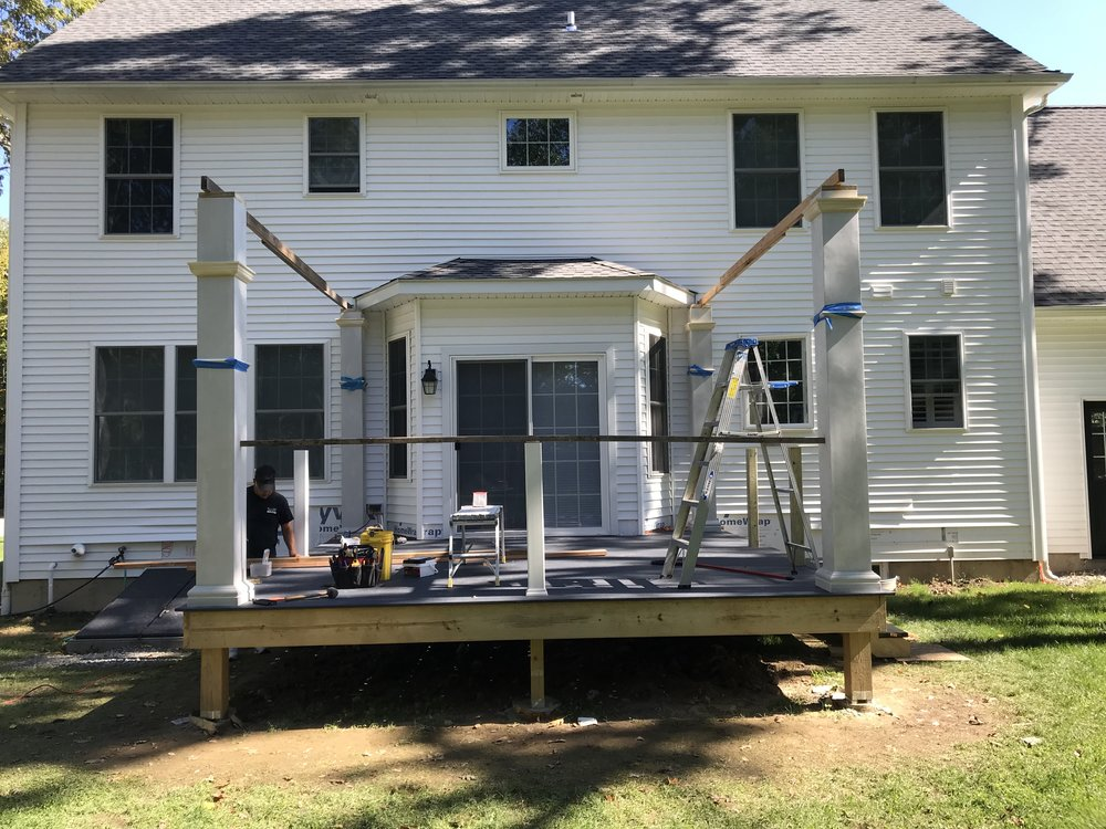 Progress Update: Deck Remodel in East Lyme CT