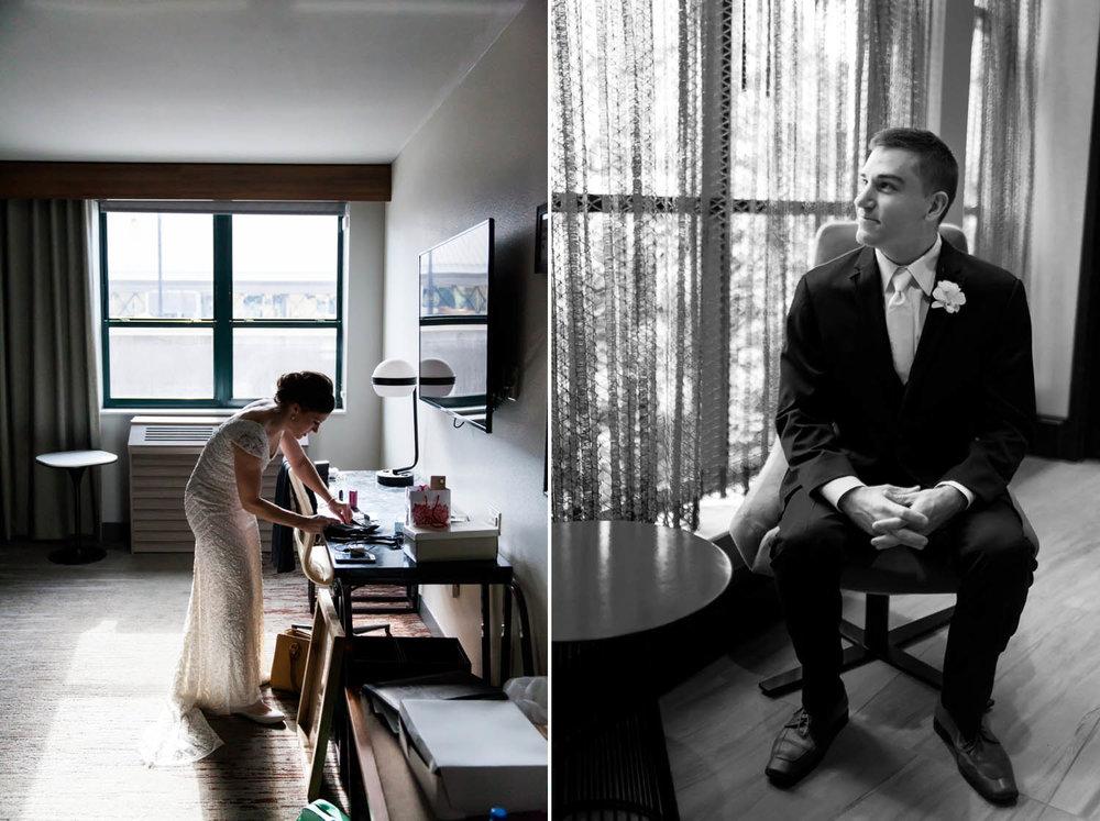 renaissance depot hotel wedding minneapolis mn