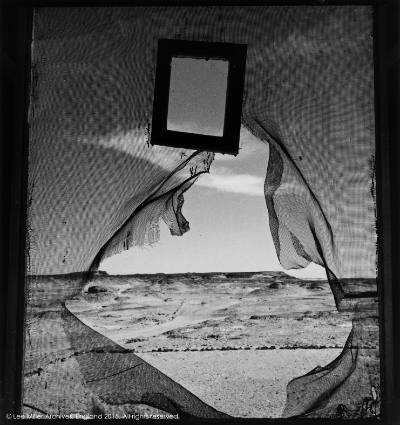 Lee Miller, Portrait of Space, Nr Siwa, Egypt 1937