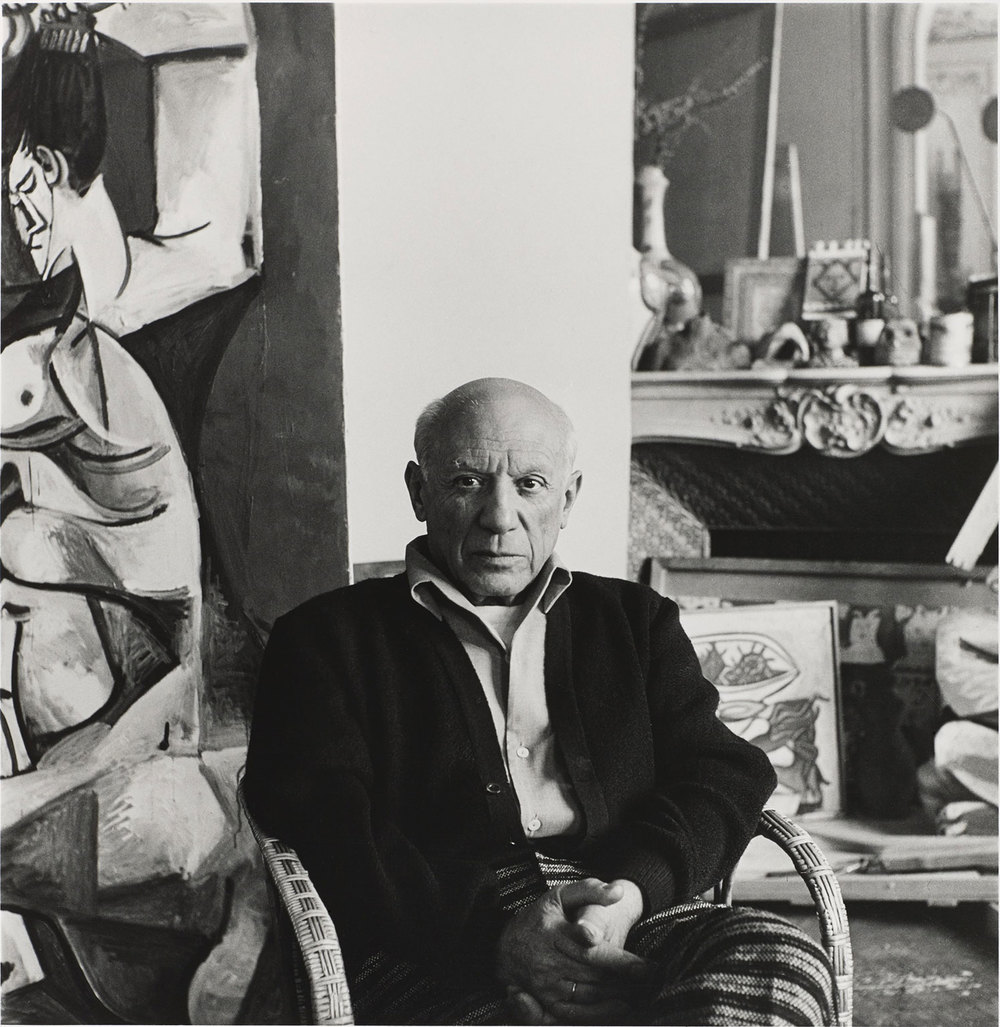 Lee Miller, Portrait of Picasso, Cannes, 1958. © Scottish National Gallery of Modern Art