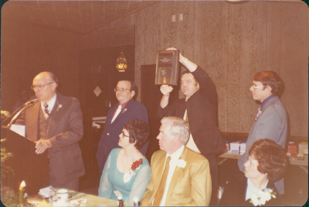 Eveson, Snyder, Lincoln & Seydel - 1978 Boss's of the Year