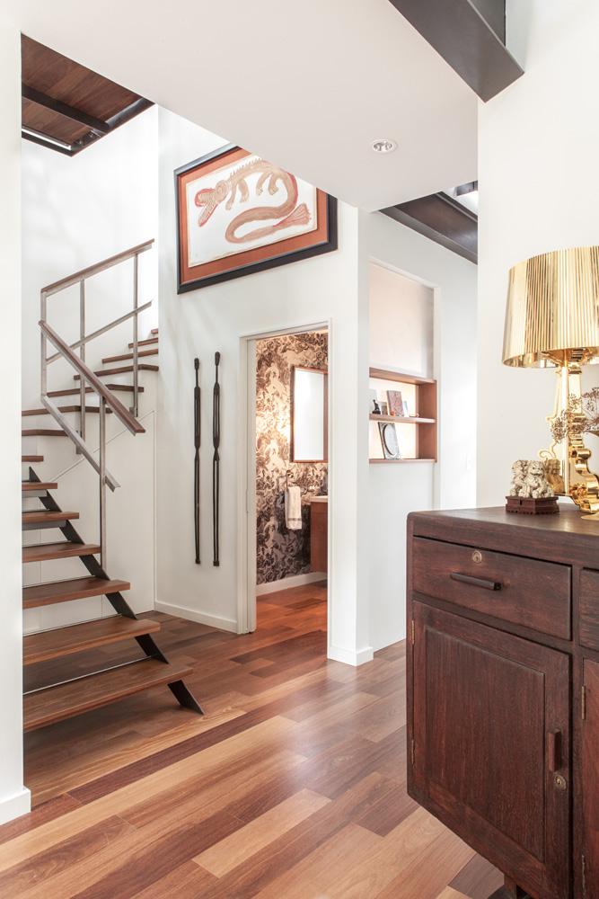Extensive Interior Remodel in Travis Heights neighborhood of Austin Texas. Construction by Ruby Ann Designs. & Allison Burke Interior Design