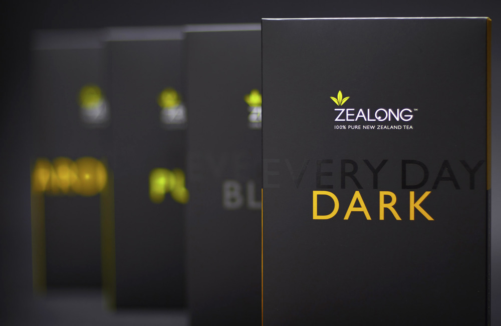Packaging for a range of Oolong tea