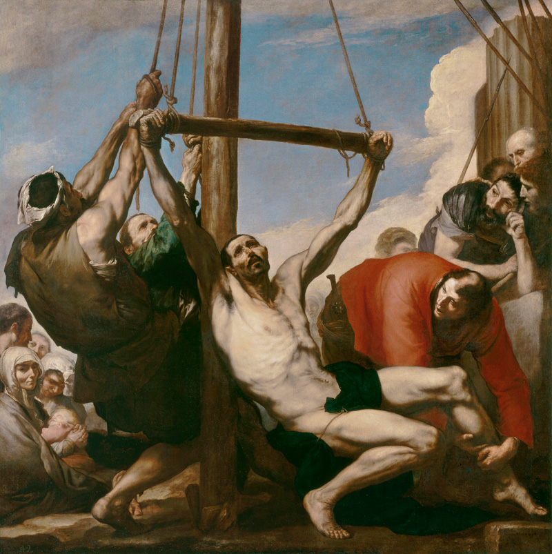 José de Ribera, The Martyrdom of Saint Philip, circa 1639