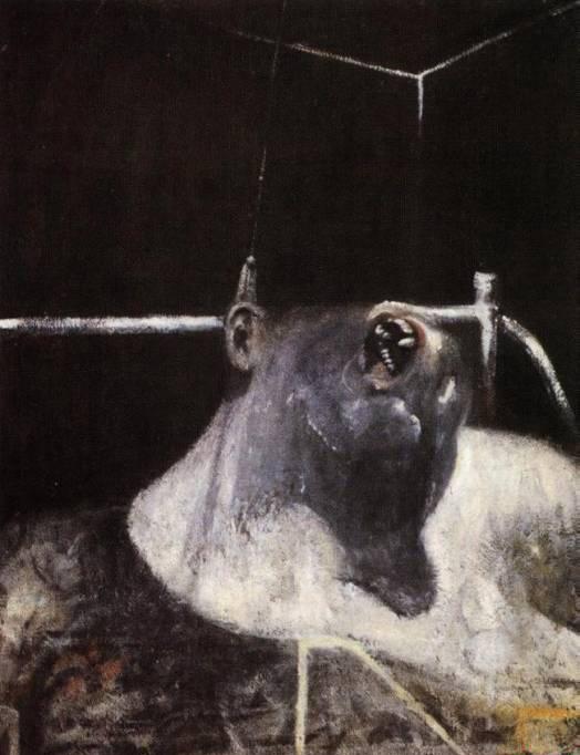 Francis Bacon, Head I, 1949   Placements: PEITO & ABD | COSTAS & GLÚTEOS | PERNA | BRAÇO | MÃO |