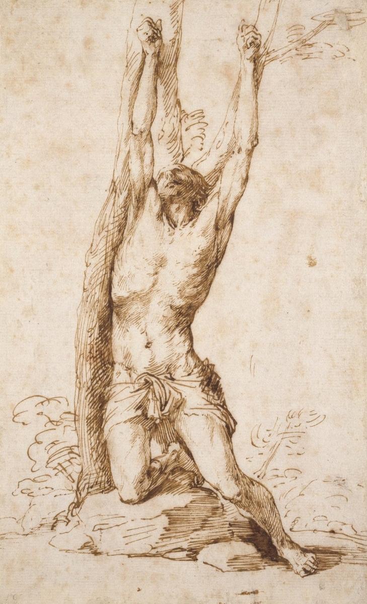 José Ribera, St. Sebastian, 1620
