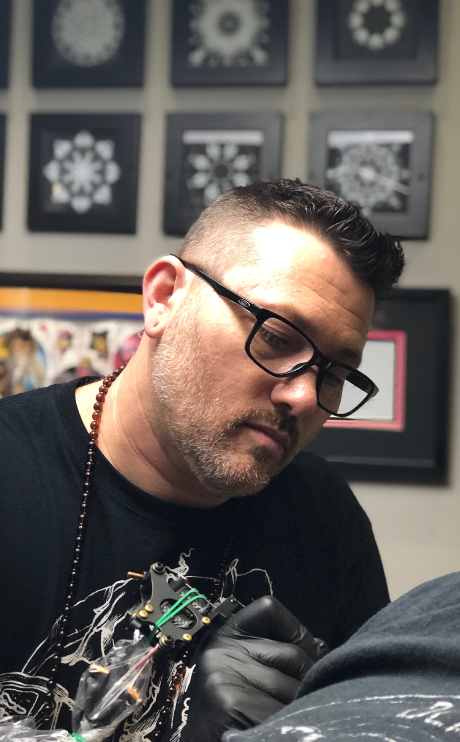 BJ Johnson, Owner & Tattoo Artist - GreenLion Studios