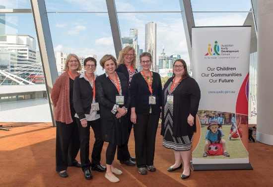 The U.S. Delegation at the Australian Early Development Census National Conference, March 2018.