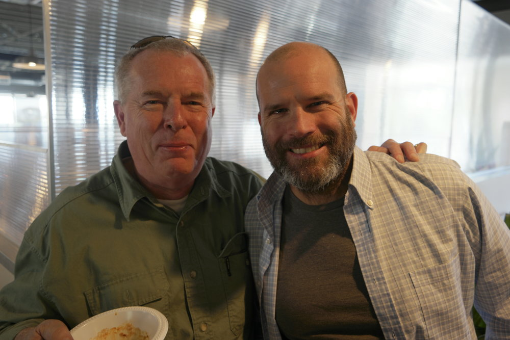 Founding Partner Dan Gilson and Department Head John Cargill