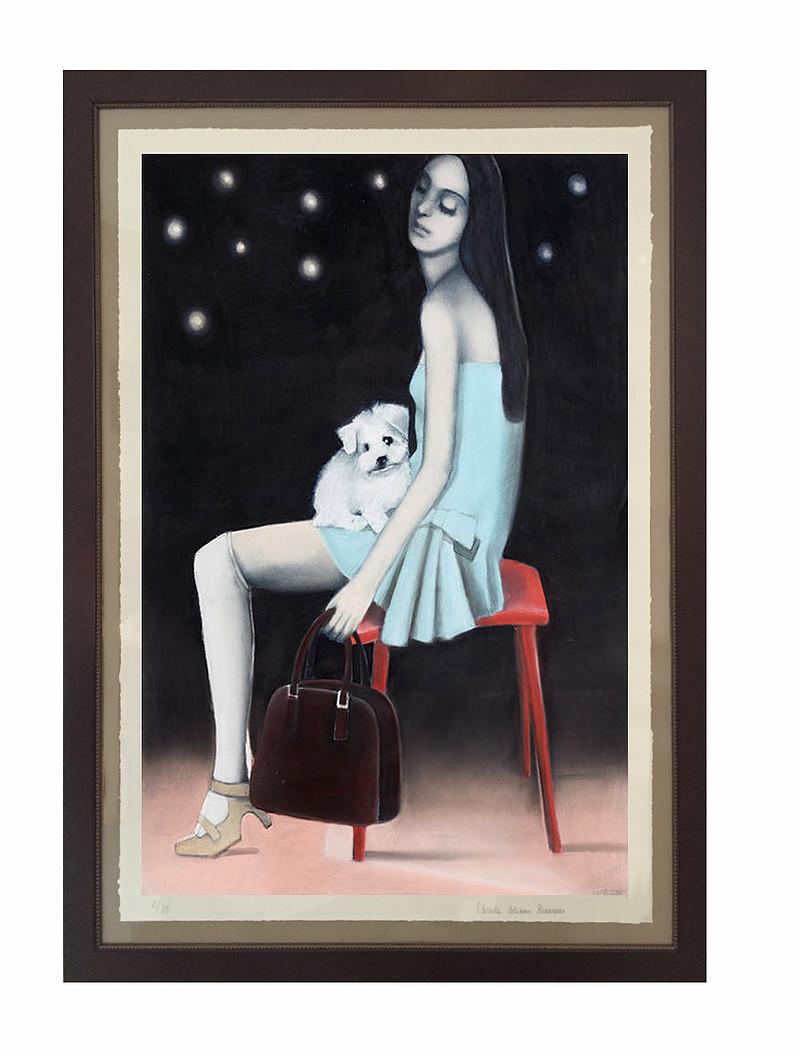 Pastel Drawings by Edvardaa Braanas Custom framed and matted originals