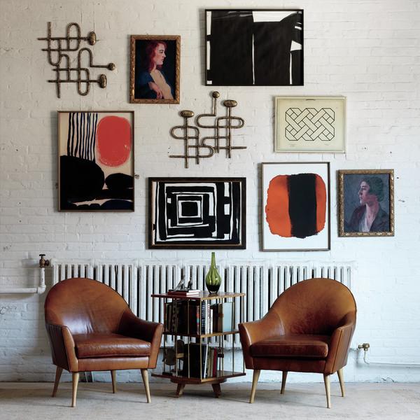 Gallery Wall for Zoe Bios Creative