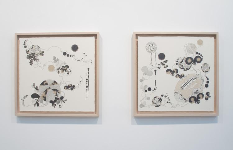 Floated Art Prints in Custom Wood Frame