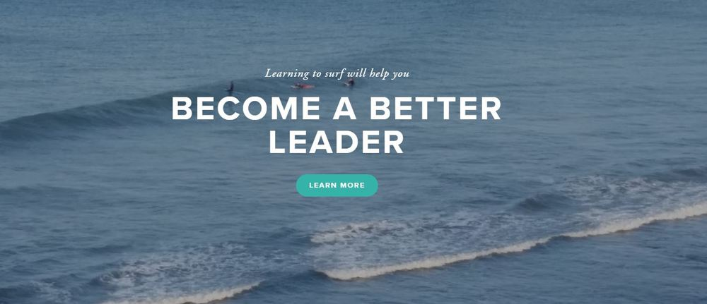 Learning to surf better leader