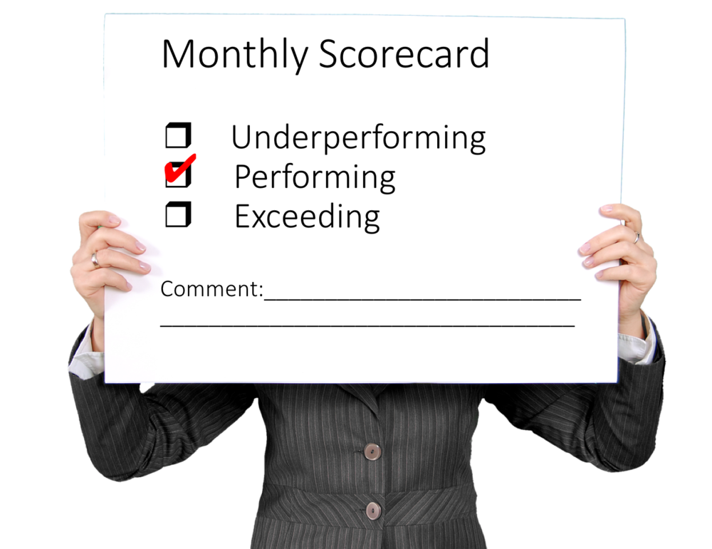 Monthly Scorecard