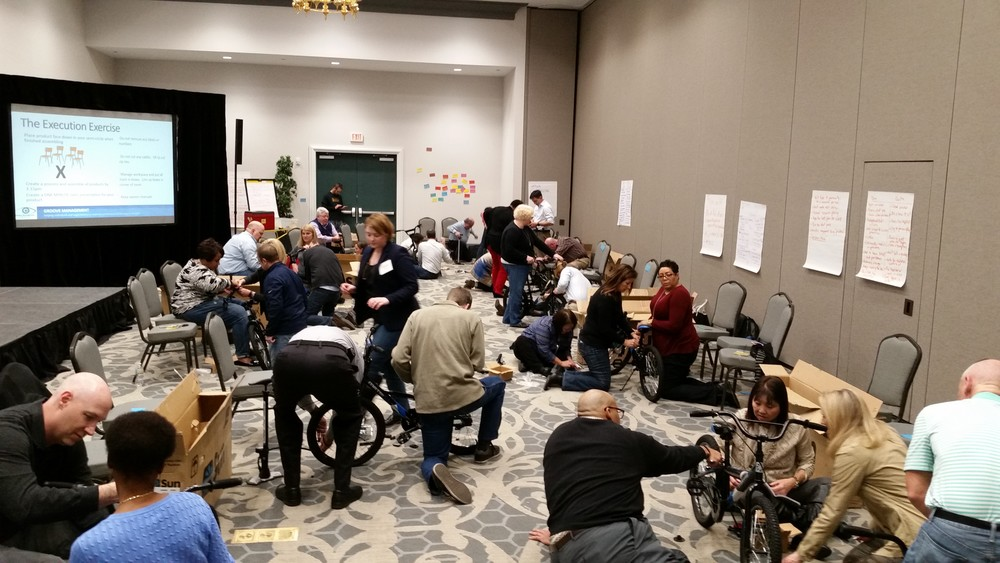 Large Team Bike Build