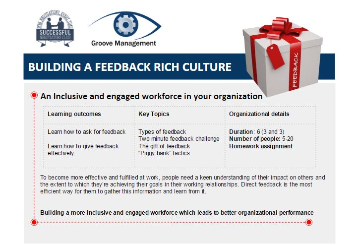 Building A Feedback Rich Culture Workshop