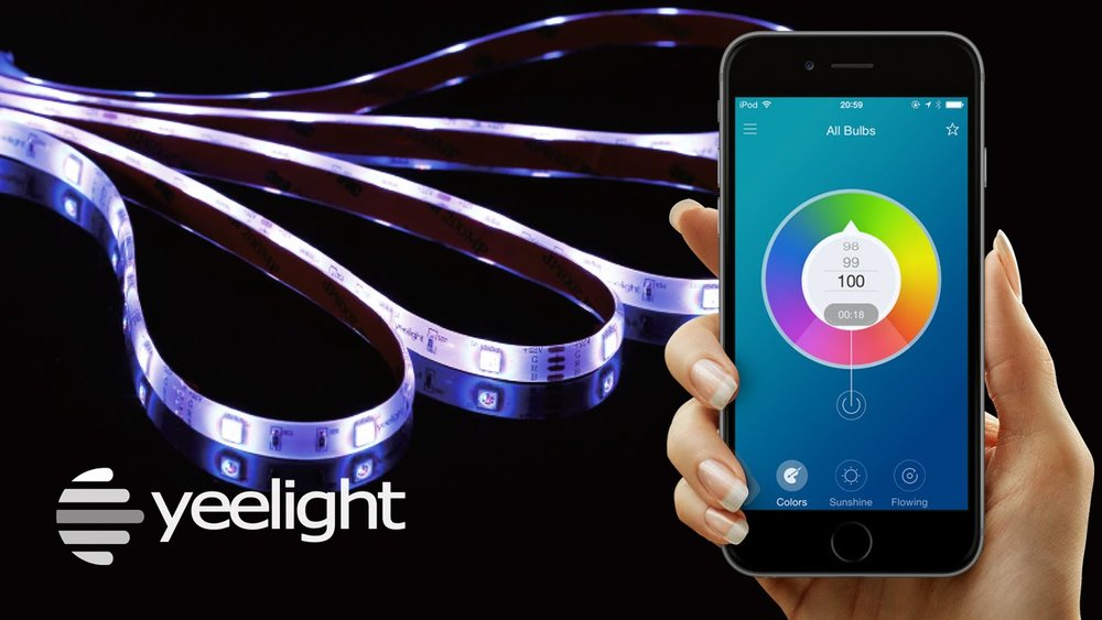 YeeLight LED Smart Wifi Strip Lights Groove Management