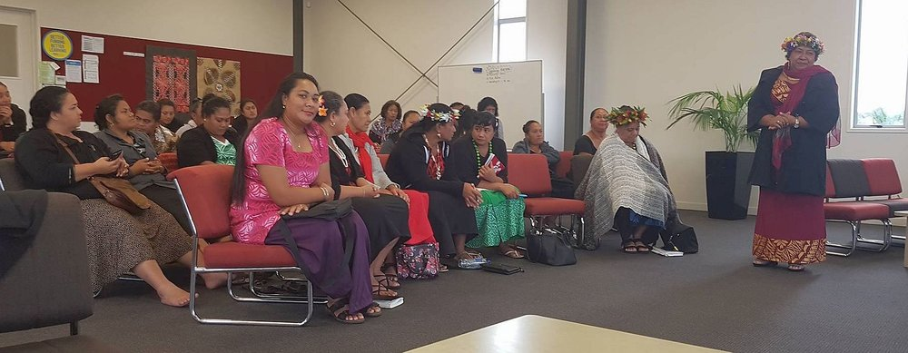 Co-principals and teachers from Samoa Primary School visiting Kia Aroha College.
